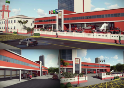 Caserma dei pompieri - Joinville (Brazil)