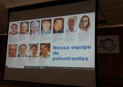 a equipe de palestrantes