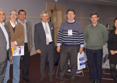 palestrantes e organizadores